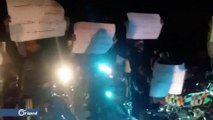 توسع رقعة المظاهرات المطالبة بالإفراج عن المعتقلين في محافظة درعا