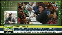 Bolivia: Gob. de facto advierte que vetará Ley de Garantías