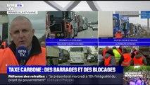 """Taxe carbone: """"On souhaite une ouverture du débat avec le gouvernement pour trouver des alternatives"""" déclare le secrétaire général OTRE Bretagne"""