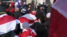 Proteste in Minsk: Sorge vor Angliederung an Russland