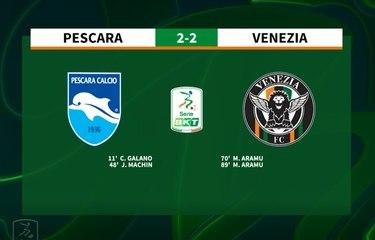 HIGHLIGHTS #PescaraVenezia 2-2 #SerieBKT