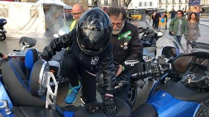 Avec les motard et les pompiers, ça roule pour le Téléthon