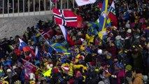 Les Bleus deuxièmes du relais hommes d'Östersund derrière la Norvège - Biathlon - CM (H)