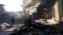 Rusya ve Esed rejiminin İdlib'e hava saldırılarında 19 sivil öldü