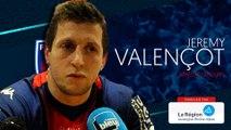 Jérémy Valençot : « On bascule vite sur les deux prochains matchs »