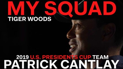 Captain Tiger Woods Dishes on 2019 U.S. Presidents Cup Team Player Patrick Cantlay