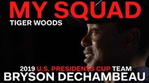 Captain Tiger Woods Dishes on 2019 U.S. Presidents Cup Team Player Bryson Dechambeau