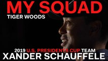 Captain Tiger Woods Dishes on 2019 U.S. Presidents Cup Team Playere Xander Schauffele