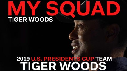 Captain Tiger Woods Dishes on 2019 U.S. Presidents Cup Team Player Tiger Woods