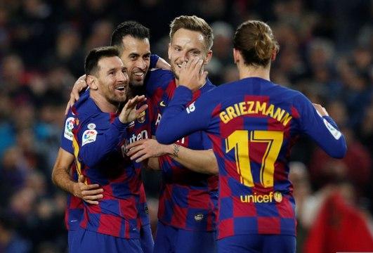 Liga : Messi fête son Ballon d'or avec deux bijoux !