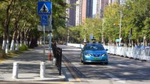 China's self-driving RoboTaxi hits the road