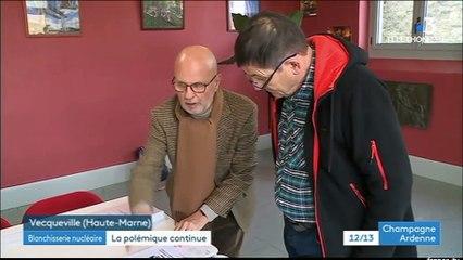 UNITECHH : Enquête publique à Vecqueville - France3 Champagne-Ardenne - 6 décembre 2019