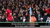 Guardiola and Solskjaer condemn racist gesture from Man City fan