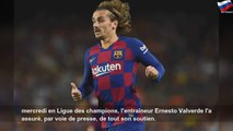 """Barça: Valverde """"essaie d'aider"""" Griezmann"""