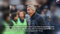 "Bordeaux-Monaco: Paulo Sousa balance ""Tu n'aimes pas le foot"" au 4e arbitre"