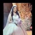 الفنانة الكويتية فوز الشطي في زفافها تشبه أنجيلينا جولي!