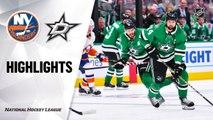 NHL Highlights | Islanders @ Stars 12/07/19