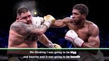 Ruiz admits being overweight for Joshua rematch