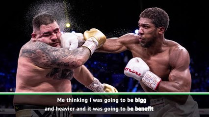 Ruiz admits being overweight for Joshua rematch
