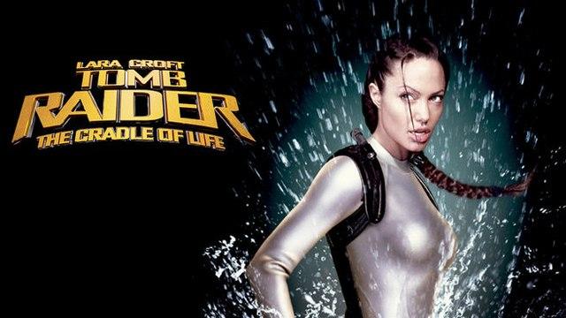 Lara Croft Tomb Raider The Cradle of Life Movie (2003) Angelina Jolie, Gerard Butler, Ciarán Hinds