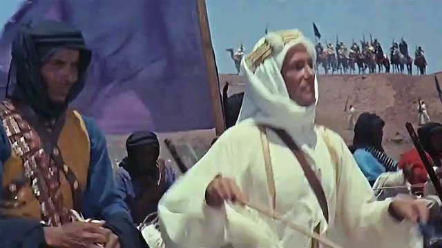 Lawrence of Arabia movie (1962) Peter O'Toole, Alec Guinness, Anthony Quinn