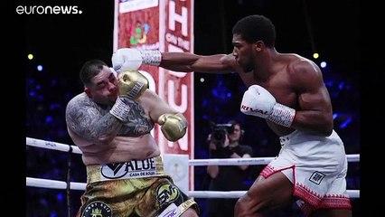 البريطاني جوشوا يستعيد لقبه العالمي في الملاكمة بالفوز على رويز في السعودية