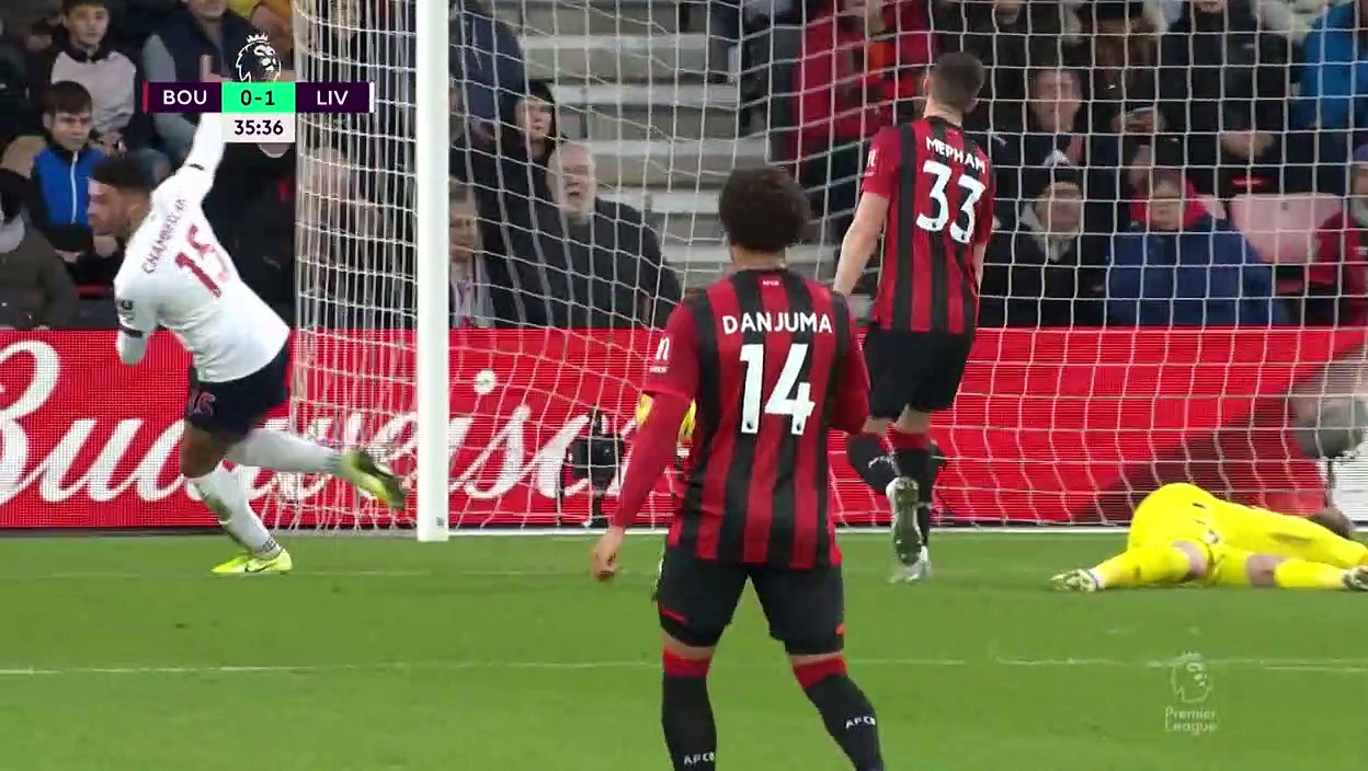 Bournemouth - Liverpool (0-3) - Maç Özeti - Premier League 2019/20