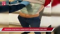 Vücuduna uyuşturucu saran kurye havalimanında yakalandı