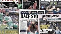 Le derby de Manchester fait scandale, la première défaite de la Juve fait couler beaucoup d'encre en Italie