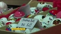 Un marché de Noël alsacien s'installe à New York