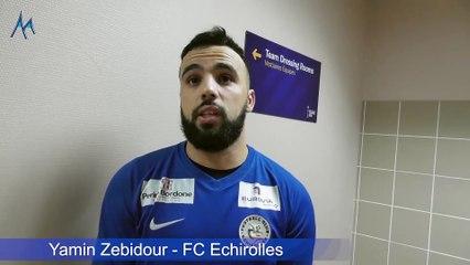 """Yamin Zebidour (FC Echirolles) : """"C'est bon pour la confiance"""""""