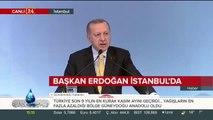 Başkan Erdoğan Yatırım Konferansı'nda konuşuyor