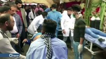 عشرات القتلى والجرحى بمجزرة السنك والخلاني.. والمتظاهرون يتهمون القوات الأمنية بالتواطؤ مع المسلحين