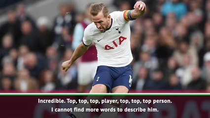 Mourinho eulogises two-goal Kane