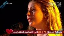 Emanne Beasha إيمان بيشة - Nessun dorma - by Giacomo Puccini/TURANDOT | Ein Herz für Kinder 07.12.2019