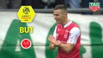But Rémi OUDIN (10ème) / Stade de Reims - AS Saint-Etienne - (3-1) - (REIMS-ASSE) / 2019-20