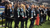 Les candidates à Miss France assistent à l'entrainement de l'OM
