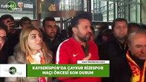 Kayserispor'da Çaykur Rizespor maçı öncesi son durum