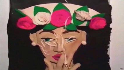 أعمال فنية من طين الصلصال الملون