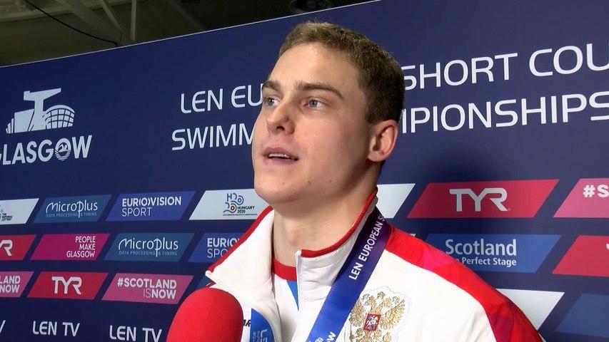 Vladimir Morozov 7 Gold in Glasgow