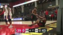 Nick Ward Posts 19 points & 11 rebounds vs. Grand Rapids Drive