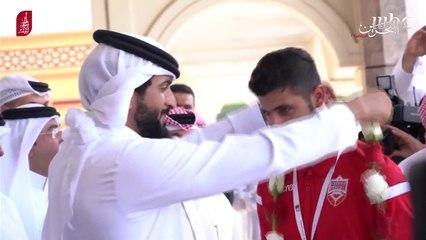 هدية صدى الملاعب لمنتخب البحرين بعد الفوز بلقب خليجي 24