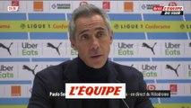 P. Sousa «Des erreurs infantiles» - Foot - L1 - Bordeaux