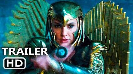 WONDER WOMAN 2 Official Trailer