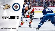 NHL Highlights | Ducks @ Jets 12/08/19