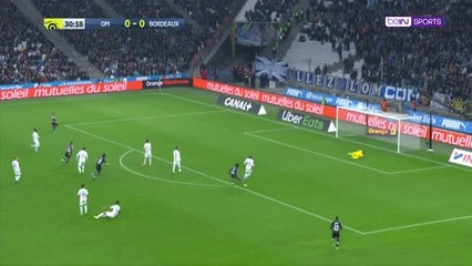 Marseille beat Bordeaux to record fifth straight win