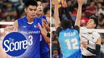Bryan Bagunas, Josh Retamar bring FIRE for the men's volleyball team | The Score