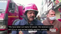 Crews respond to fire at India factory that leaves more than 40 dead