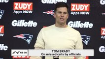 Tom Brady On Missed Calls During Patriots' Loss To Chiefs