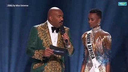 Winning answer of South Africa's Zozibini Tunzi at Miss Universe 2019 pageant